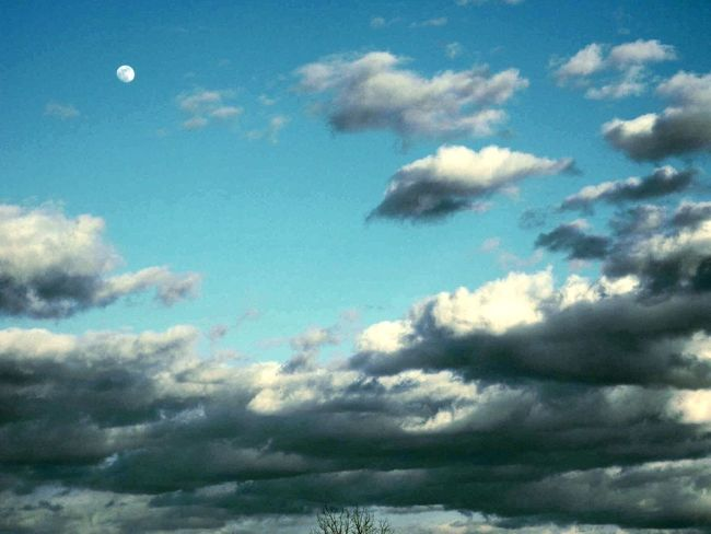 Moon Clouds Clouds And Sky Moon At Day Daytime Daytime Moon Blue Sky