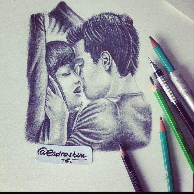 Follow me on instagram ! @esdrasbuu ✏️? 50nuancesdegrey 50shadesofgrey Drawing Draw Dessin Instagram Picture Love MOVIE Romance