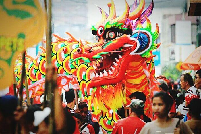 Dragon Enjoying Life Hello World