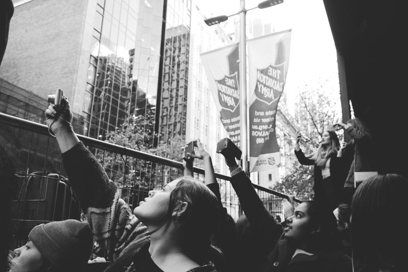 People Watching at 5 Seconds Of Summer performance, shot with Lumia 1020.