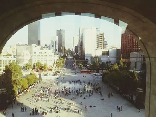 Mexico DF, Monumento a la revolucion! Baño de felicidad! ? Enjoying Life ShowerTime Lol :)