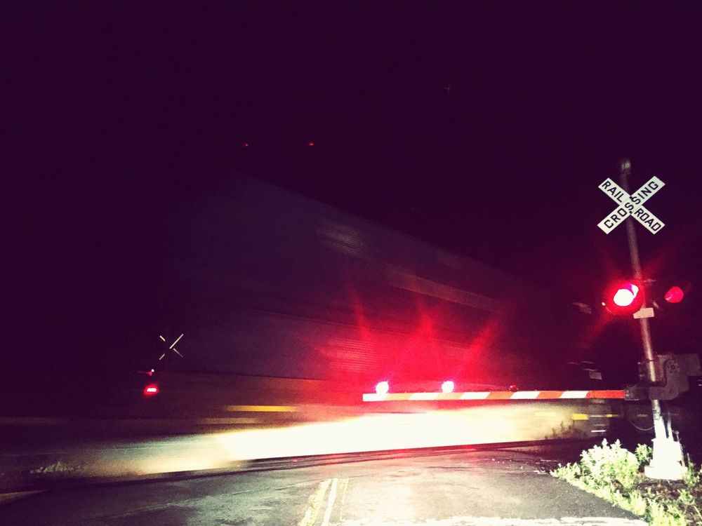 Train Passing By Waiting Nightphotography EyeEm Night Shots