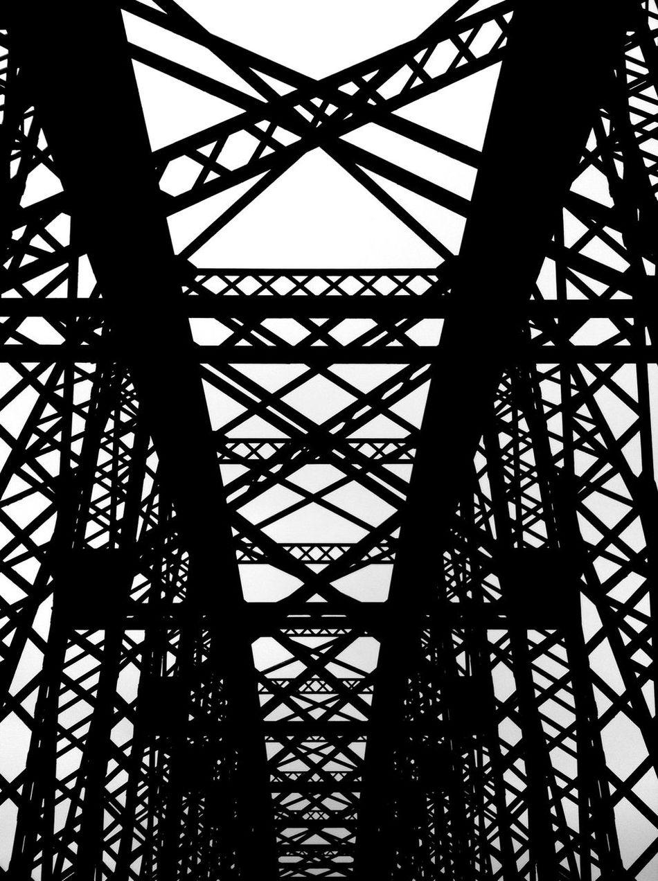 Bridge Blackandwhite Spey Bay