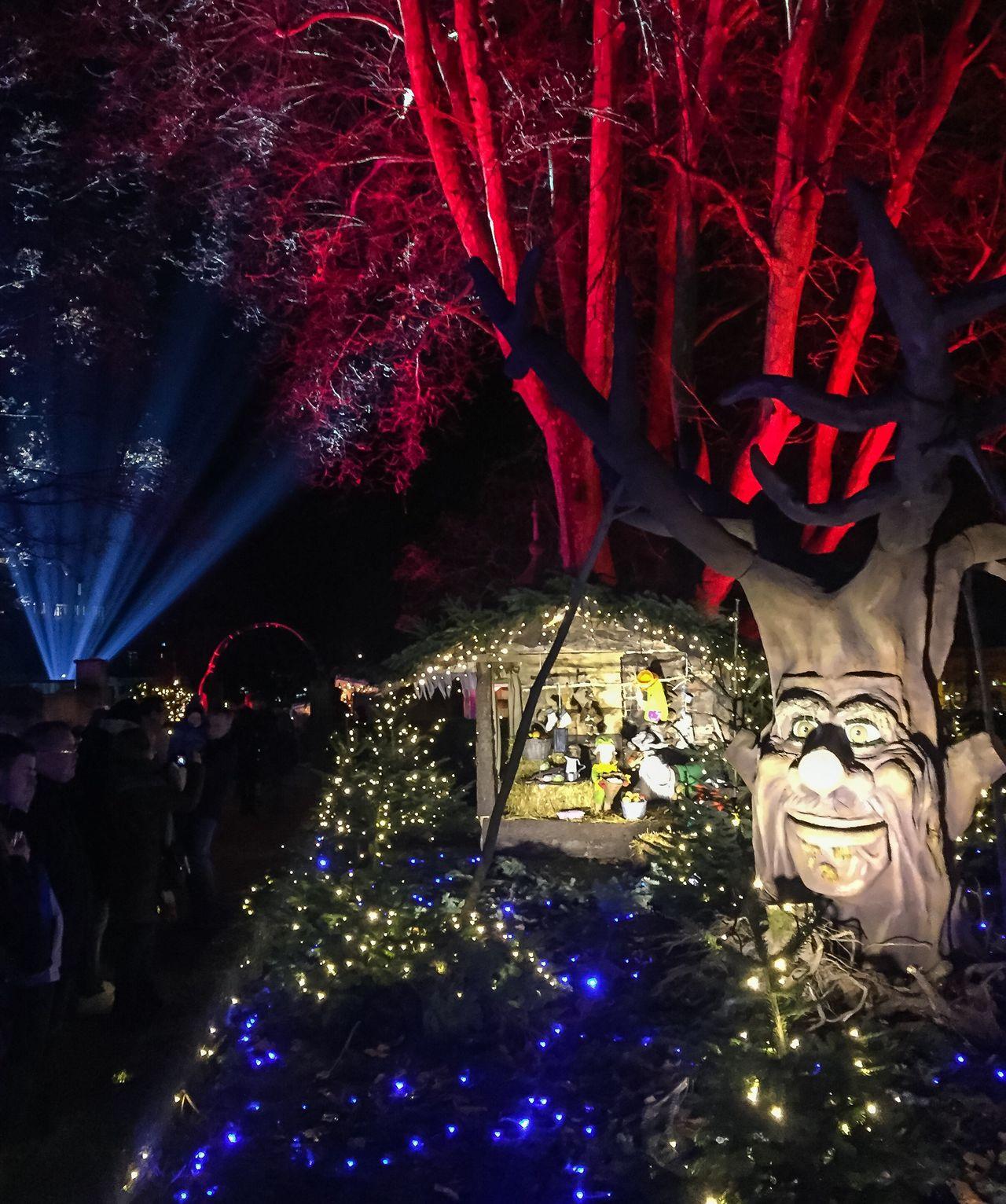 Fairytale Christmas mood 🎄🎅✨ Fairytale  Christmas Mood Lights Nightshot Weihnachtsmarkt OffenburgIlluminated Night Indoors  Christmas Decoration No People Architecture