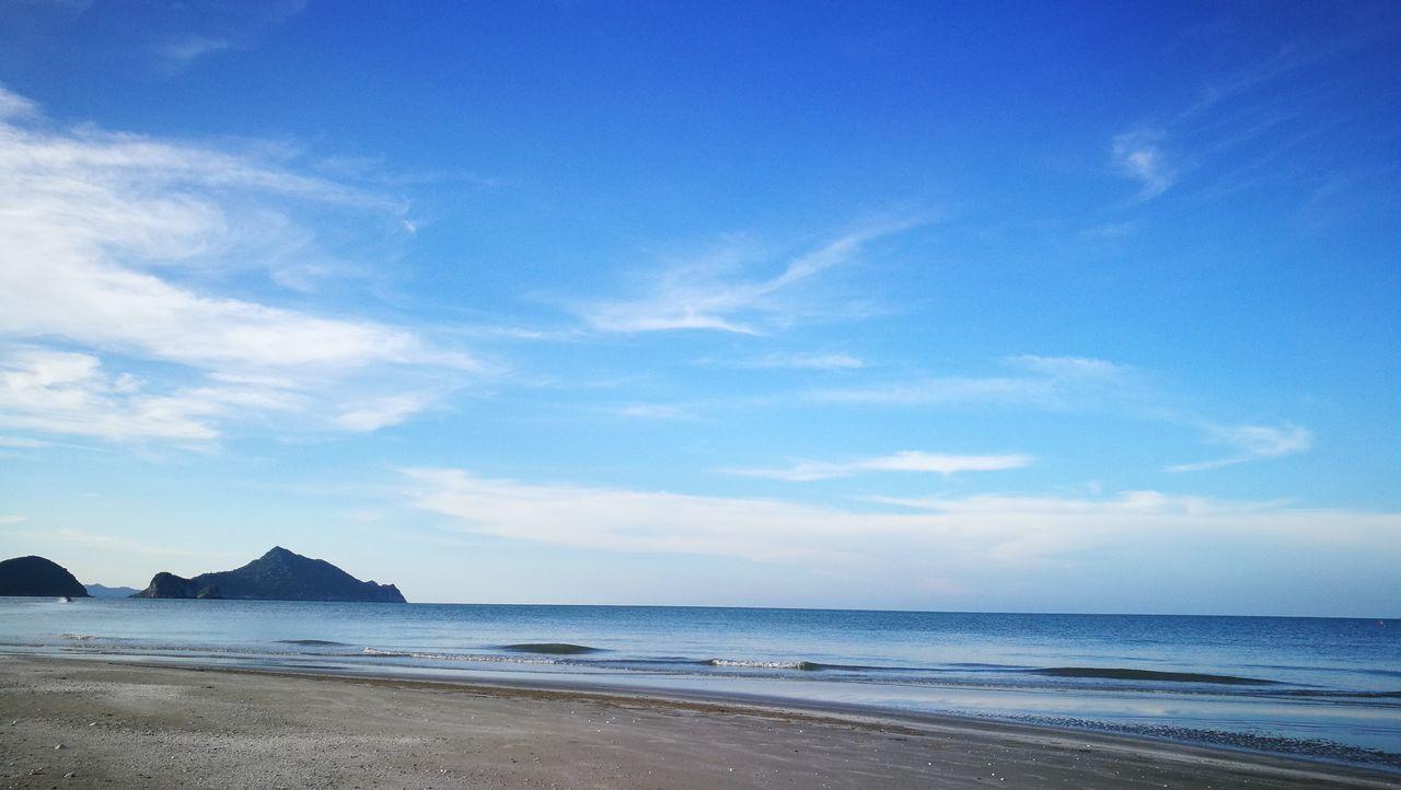 🏖🏝🌅🌞🌝☉🌴 Blue Sea Sky Nature P9 Huawei