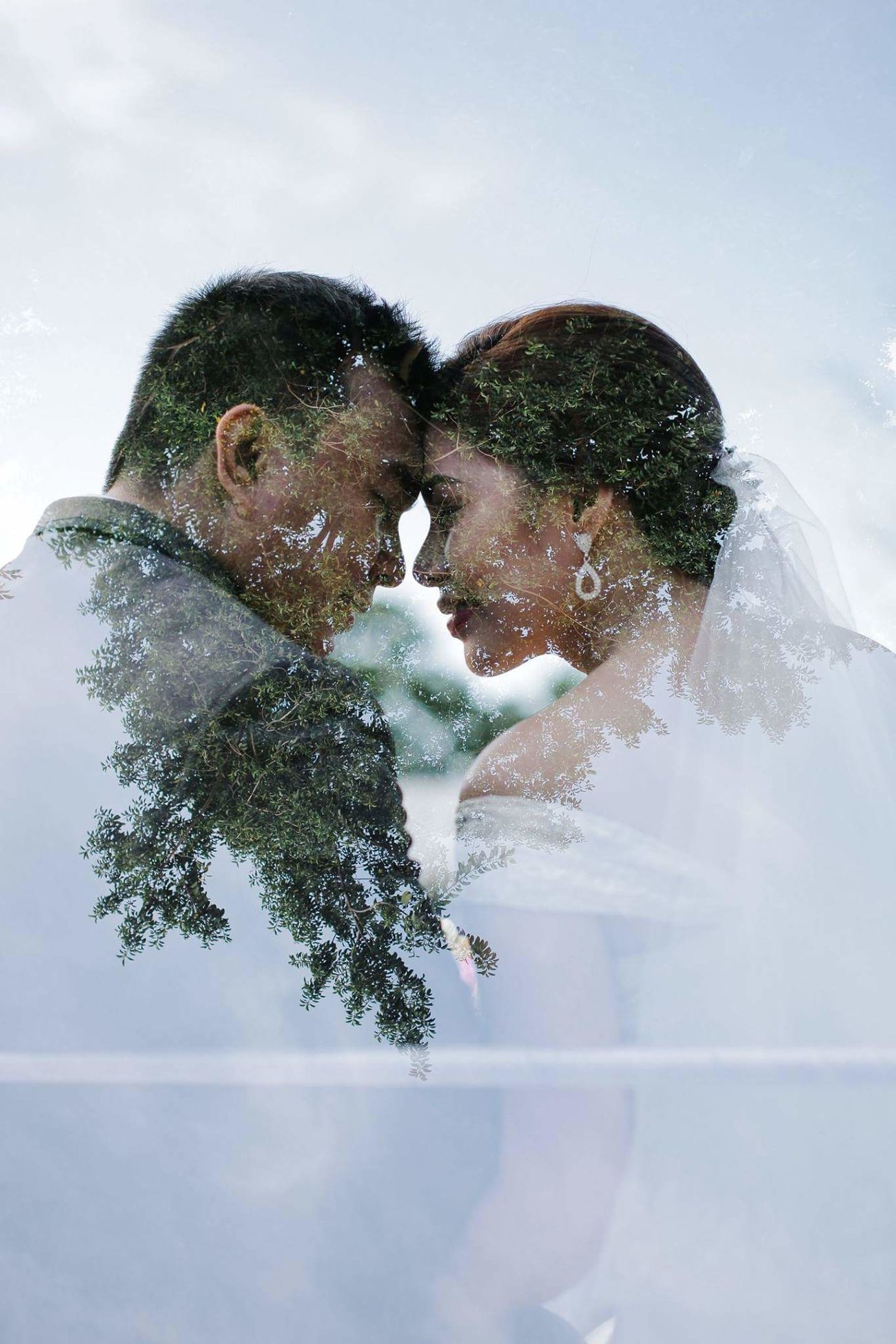 Wedding Love Romance Sky People Portrait Smiling Day Two People Togetherness MultiExpo
