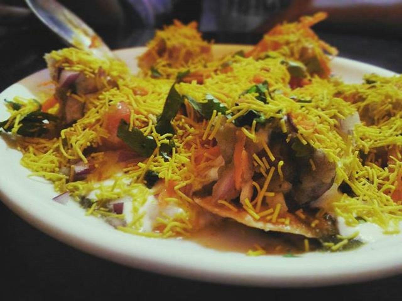 Sevpuri Foodie Picoftheday Namma_bengaluru Tasty Instabengaluru Foodphotography Everydaybanglore Streetfood Peace Bengalurudairies Bestevening  Nammakarnataka Smallhappiness Enjoyeverymoment