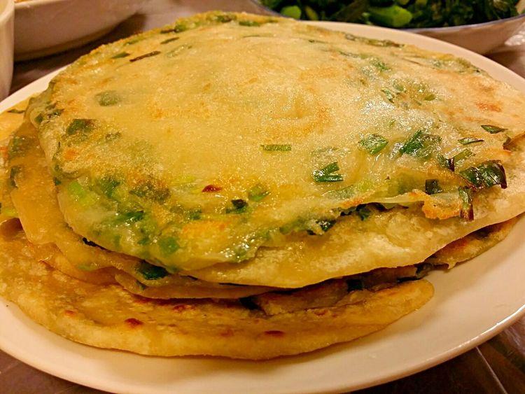 Homemade green onion pancakes Homemade In My Mouf Shanghaifood Food Porn Food♡