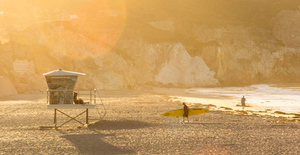 Avila Beach CA STAND Surf Beach Beauty In Nature Day Lifeguard  Nature Outdoors Sand Sunlight Sunrise Sunset Water