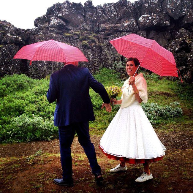 The bride & groom from yesterday wedding. Thingvellir National Park