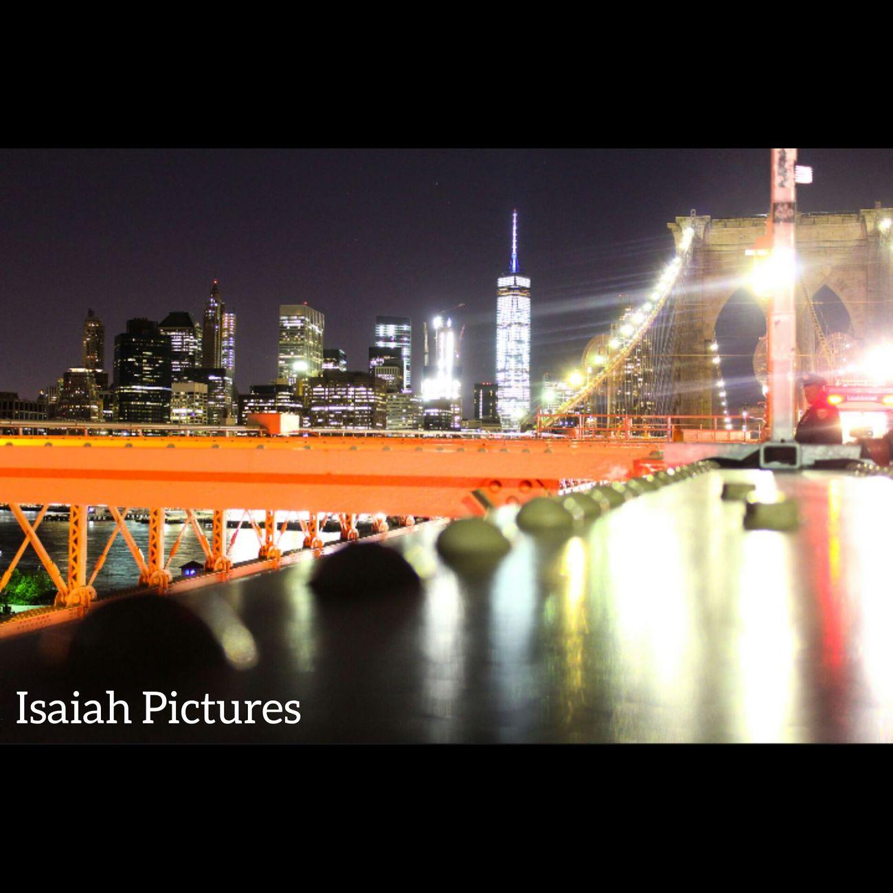 Cities At Night View NYC LIFE ♥ NYCNights EyeEmNyc Nycprimeshot Canonphotography Brooklyn Bridge / New York NYC Skyline Eyeeminstagram