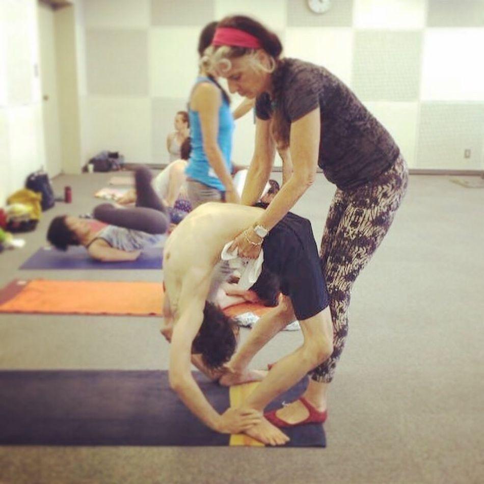 Nancy Gilgoff mysore class Ashtangayoga Yoga Space Siddhi Nancy Gilgoff Backbend アジャストメントクリニック アジャストメントは真剣勝負 Yoga Mysore Class 広島