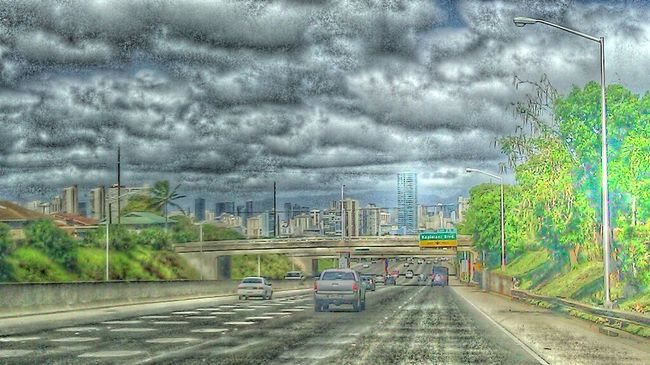 Riding Around Home Is Hawaii