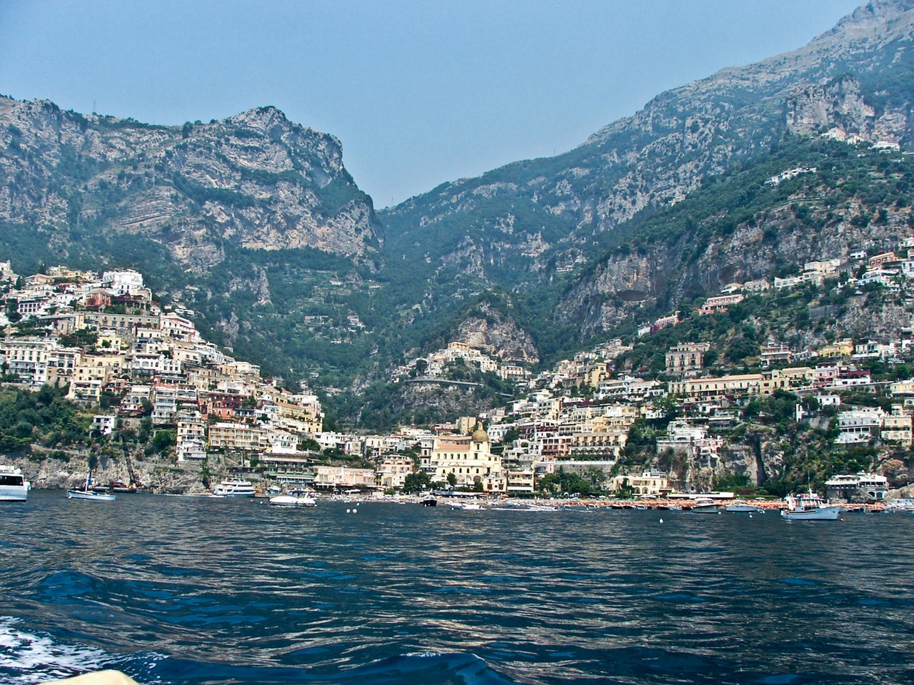 Travel, Rocky, Bright, Sunshine, Nature Island View  Beauty In Nature Travel Destinations Naples, Italy Positano Cultures Skyscraper Horizon Over Water Beach Sunset Built Structure Green Water Yellow