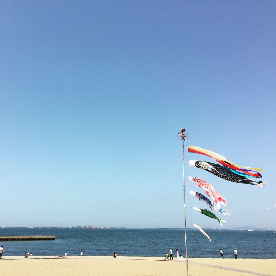 KID'S DAY こどもの日 Traditional Of Japan Traditional Flying Fish Sky Ocean Beach Fukuoka Japan Portrait Portraits