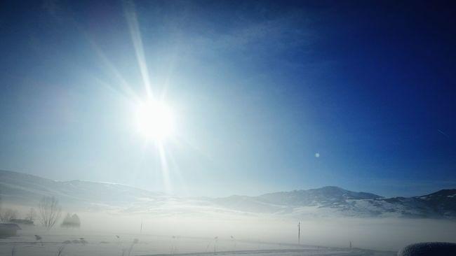 Winter Wonderland Winter Huntsville Utah Sunrise Cold Snow Countryside Country Living Sun Sky Sun And Moon Sun And Mountains