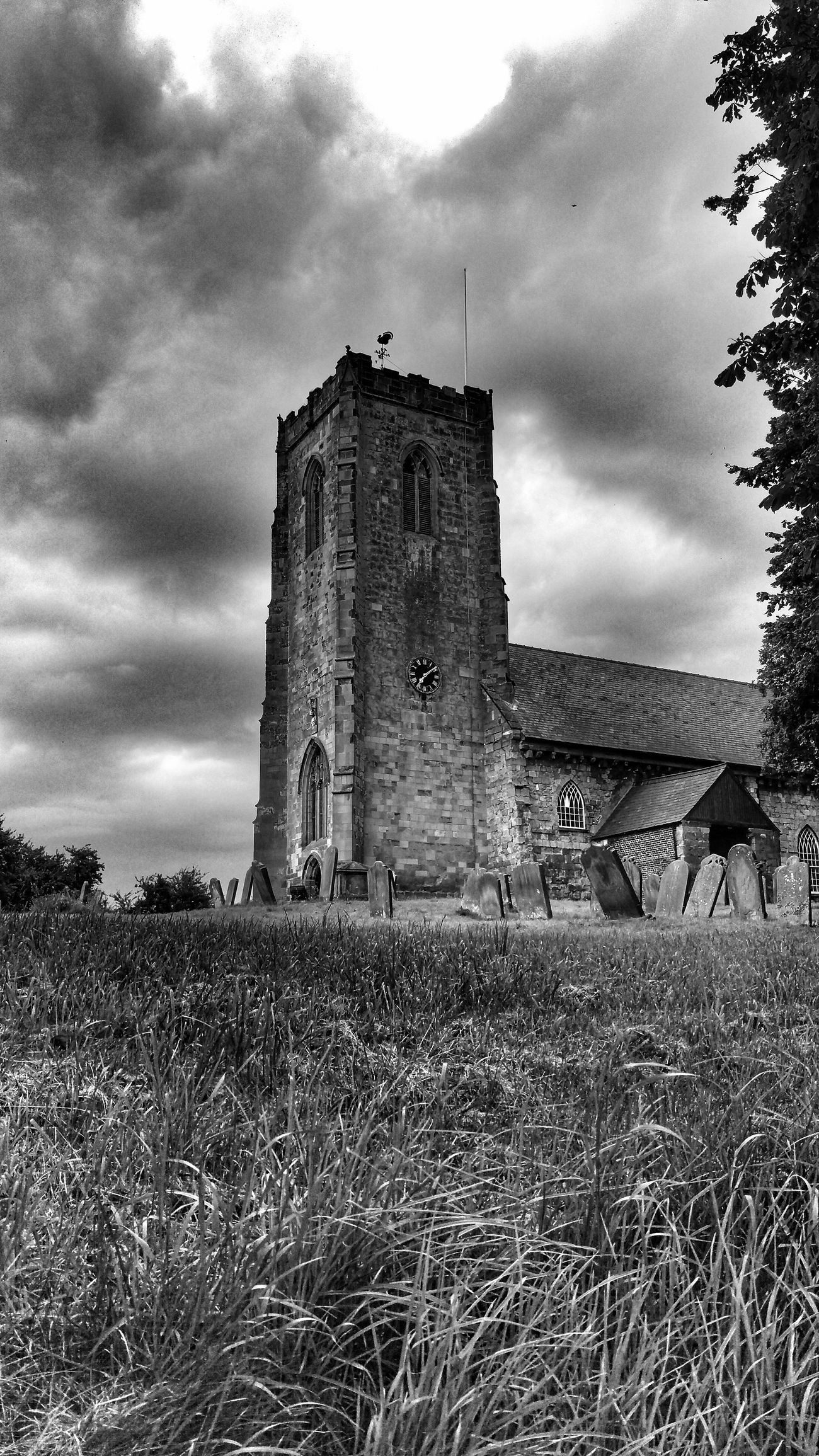 Kilham East Yorkshire Skyporn Sky And Clouds Gothic Atmosphere Blackandwhitephotography Blackandwhite Church