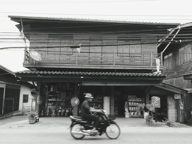 Old style houses in Chiang Dao Thailand. Streetphotography EyeEm Best Shots Blackandwhite Photography Chiang Mai | Thailand IPhoneography EyeEm Best Shots - Black + White IPhoneArtism Iphonephotography Home Thailand_allshots