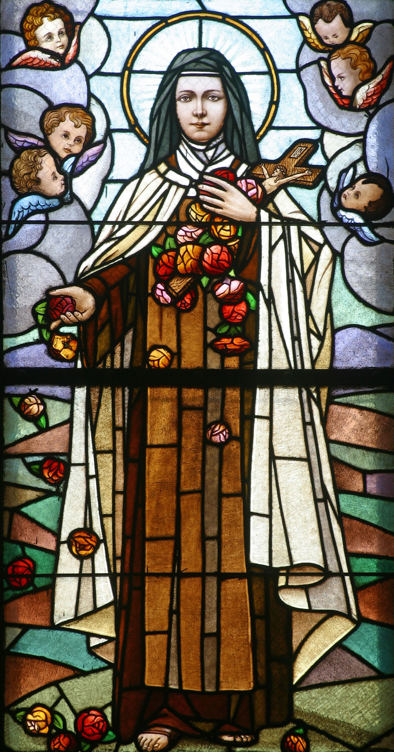 Saint Teresa of Lisieux Abbey Belief Blessed  Catholic Christianity Church Convent Croatia Faith Historic Holy Lisieux Pilgrimage Pray Religion Sacred Saint Serenity Spiritual Spirituality Stained Glass Teresa Window Windowpane Worship