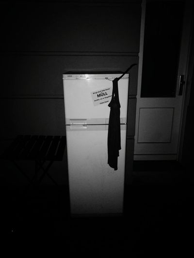 Street fridge. No People Streetlife Fridge Refridgerator Trash Rubbish Müll Blackandwhite Black And White Black & White Dumped Dumping Rubbish