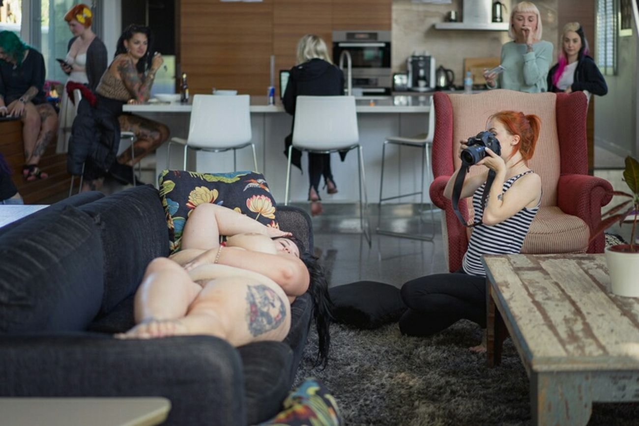 BTS shot by Frank+dame at the Brisbaneshootfest2015 for SuicideGirls. Sgaustralia Hopefulsuicidegirls Effyourbeautystandards