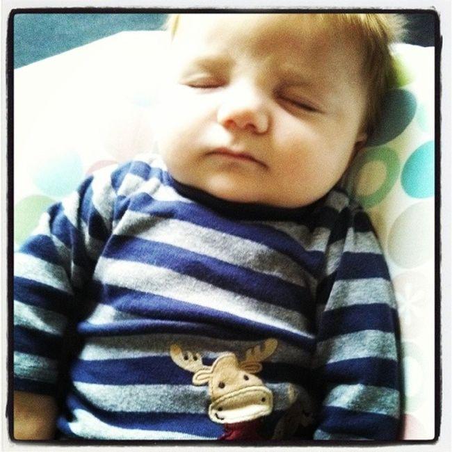 he enjoys his sleep just as much as his mommy does! :) SleepyBoy Alwayssleeping