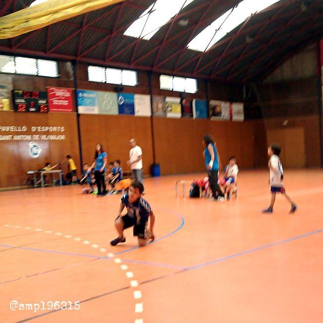 Handball Santantonidevilamajor vs Granollers prebenjamín 14/15. Igersvoriental