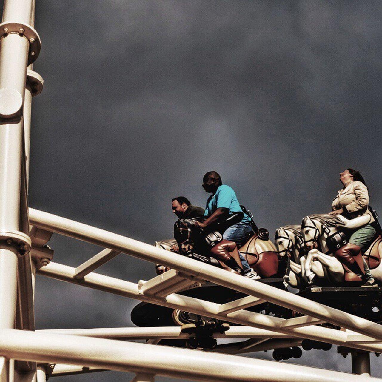Steeplechase Coney Island Ecstasy Ride Me High Joy Thrill Darkclouds Spring @lunapark Bhportdev @bheventspace