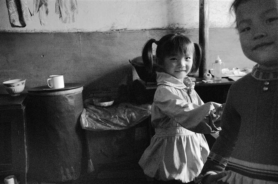 Black Background Outdoors Child Domestic Life Vi village