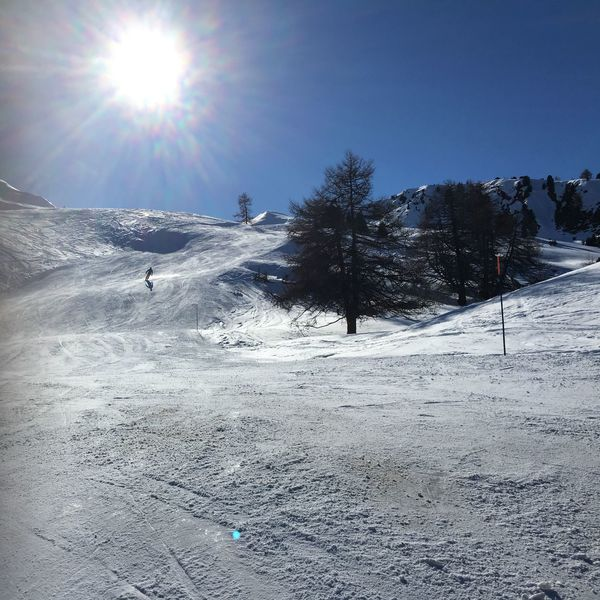 Skiing on empty slopes in Savognin, Switzerland on a very quiet day Ski Skiing Snow ❄ Mountain