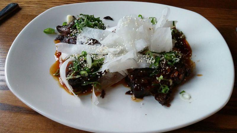 Amazing meal!!! Short Ribs need i say more.... @ River Market Bar & Kitchen!! Beef Short Ribs Short Ribs Dinner!