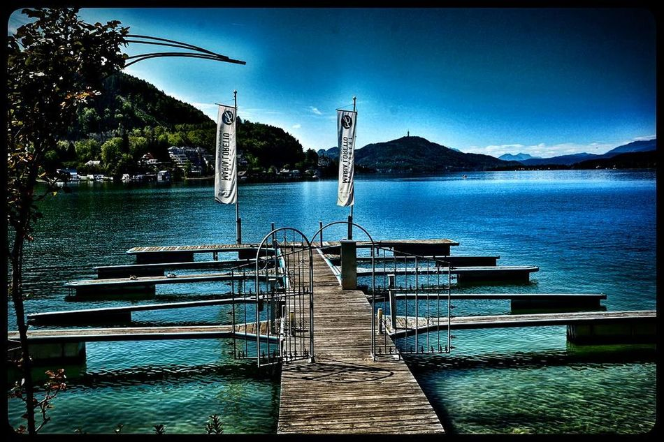 Water Sea Pier Outdoors Tranquil Scene Tranquility No People Nature Day Sky Beauty In Nature Scenics Mountain Nautical Vessel Tree Outdoors❤ Outdoor Pictures Kärnten / Österreich Awesome_shots Beauty In Nature Lake View Lakescape Wörthersee ❤ Art Is Everywhere The Secret Spaces EyeEmNewHere