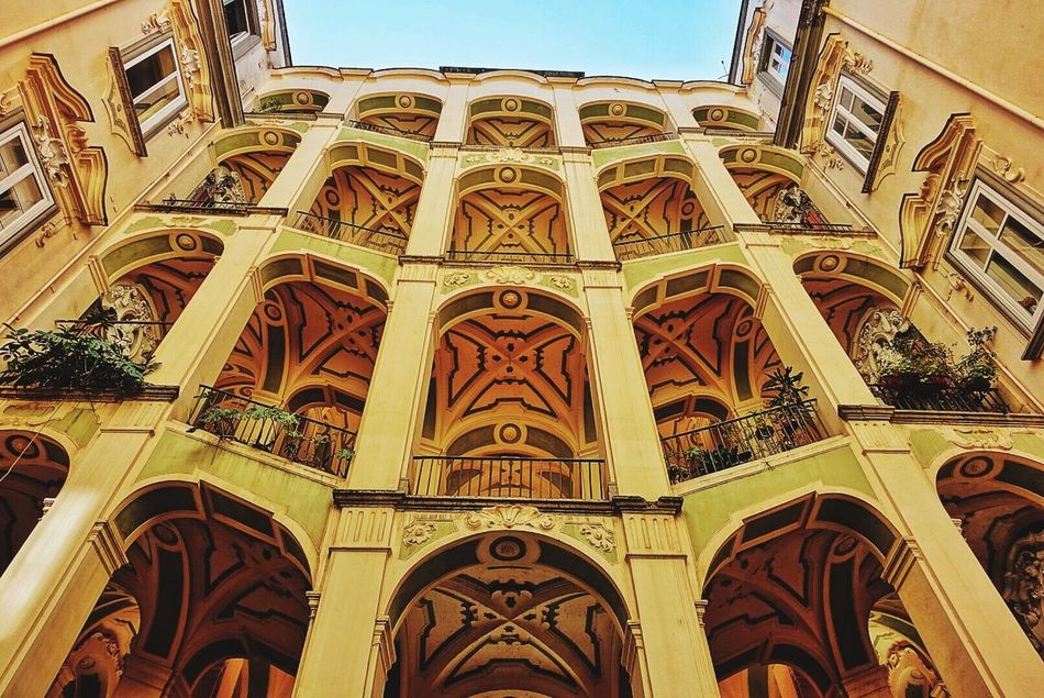Napoli Palazzo dello Spagnolo Low Angle View Architecture Built Structure Day Building Exterior Religion Place Of Worship No People Outdoors Napoli ❤ Naples Travel Destinations Napoliphotoproject Architecture_collection Architectural Column History City Visiting Holiday Streetphotography Architecture Napoli Street