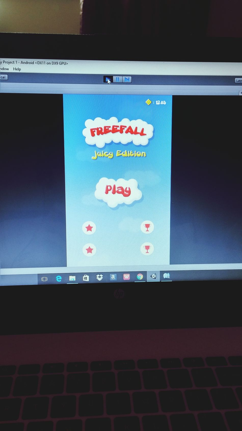 FreeFall development Gamedev Gamedesign Gamedeveloper Android Unity Unity3d MobileGame Appstore First Eyeem Photo