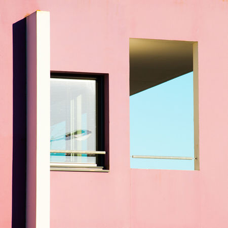 Brest Sunny Day Photography Colors Minimalism Light And Shadow Architecture