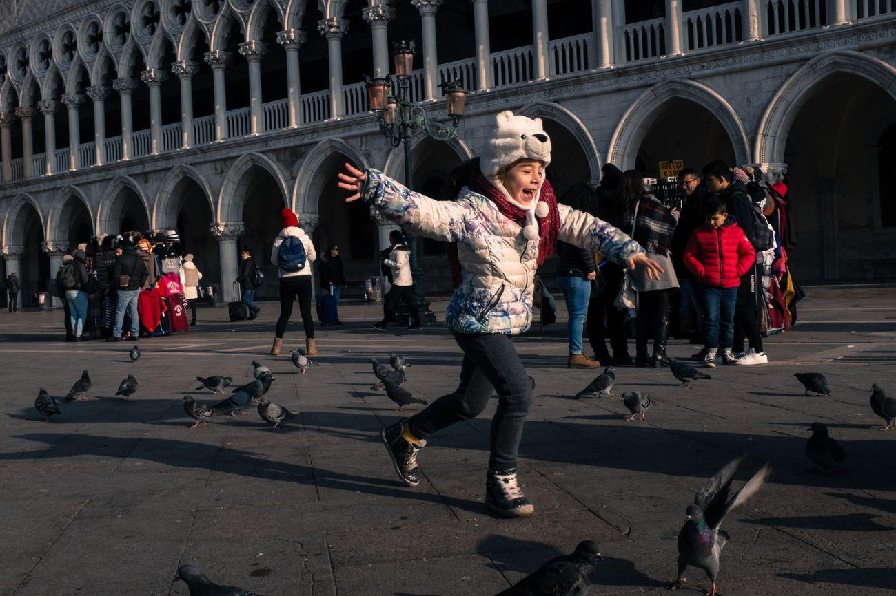 Venice (IT), 2017. City Fujifilm Girl Italy People Sanmarco Streetphoto_color Streetphotography The Street Photographer - 2017 EyeEm Awards Venice