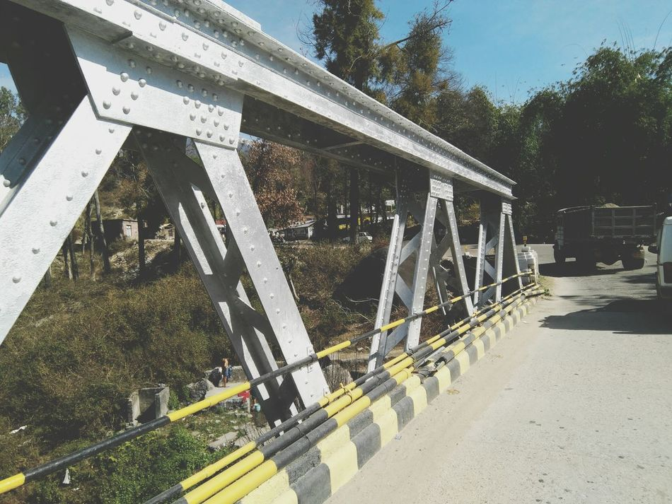 Bridges Truss Bridge Outdoors Fun Nature Traveling Tranquility