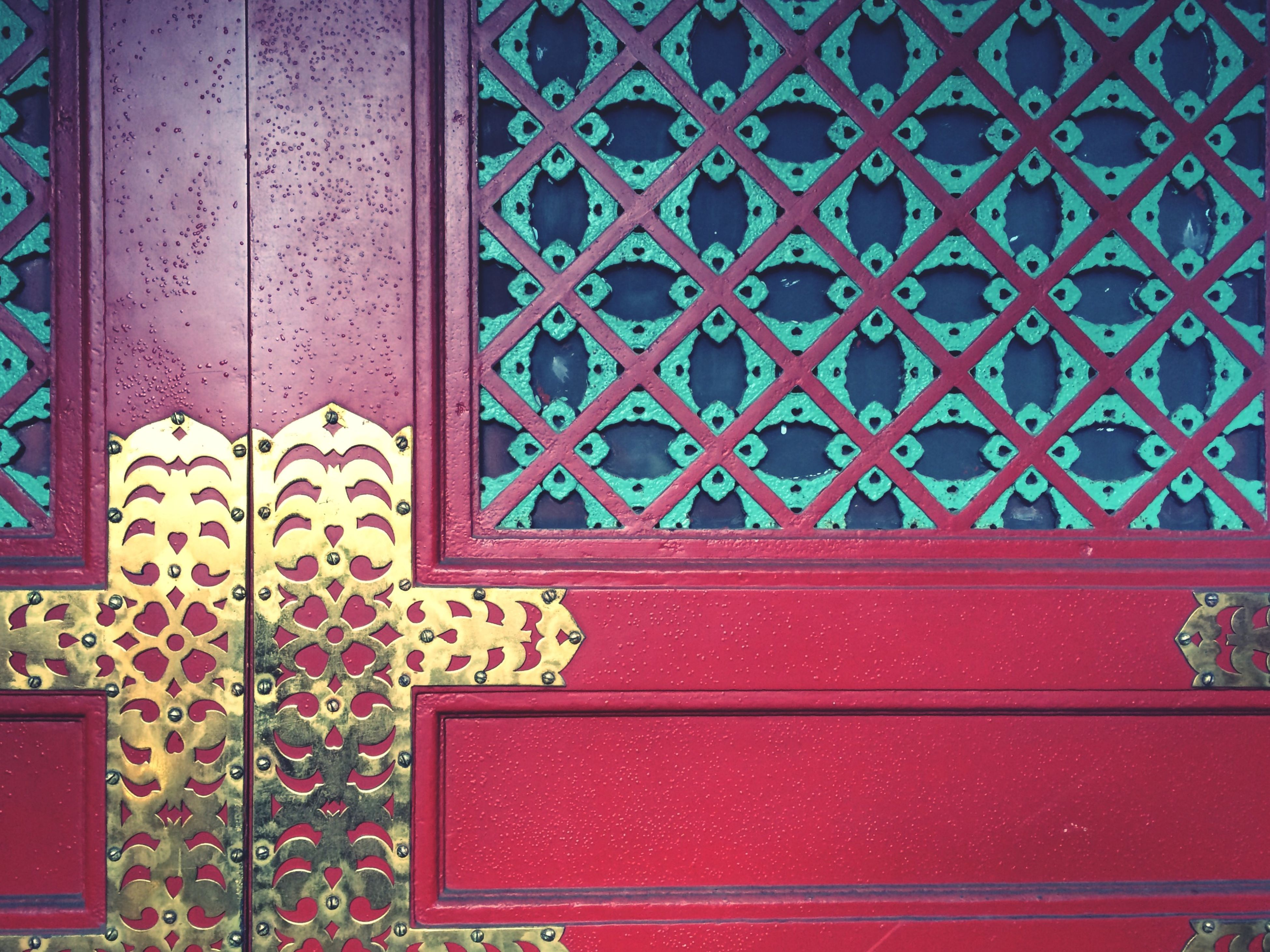 metal, red, built structure, architecture, protection, closed, safety, pattern, door, building exterior, metallic, security, wall - building feature, close-up, window, design, no people, indoors, day, wall