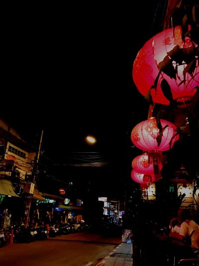 The City Light Chiang Mai   Thailand Chiang Mai Night Barzza Night Illuminated Lantern Hanging City Light And Shadow Chiang Mai City Life City Street City Lights City Views City Building Lights Transportation Vehicle Multi Colored Multi Image Lens Welcome Weekly