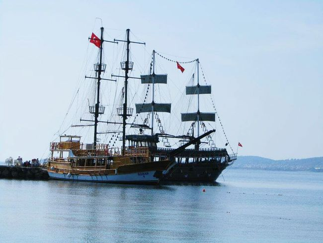 alanya Turkey boat moored up 2012 Hello World Taking Photos Landscapes Holiday past