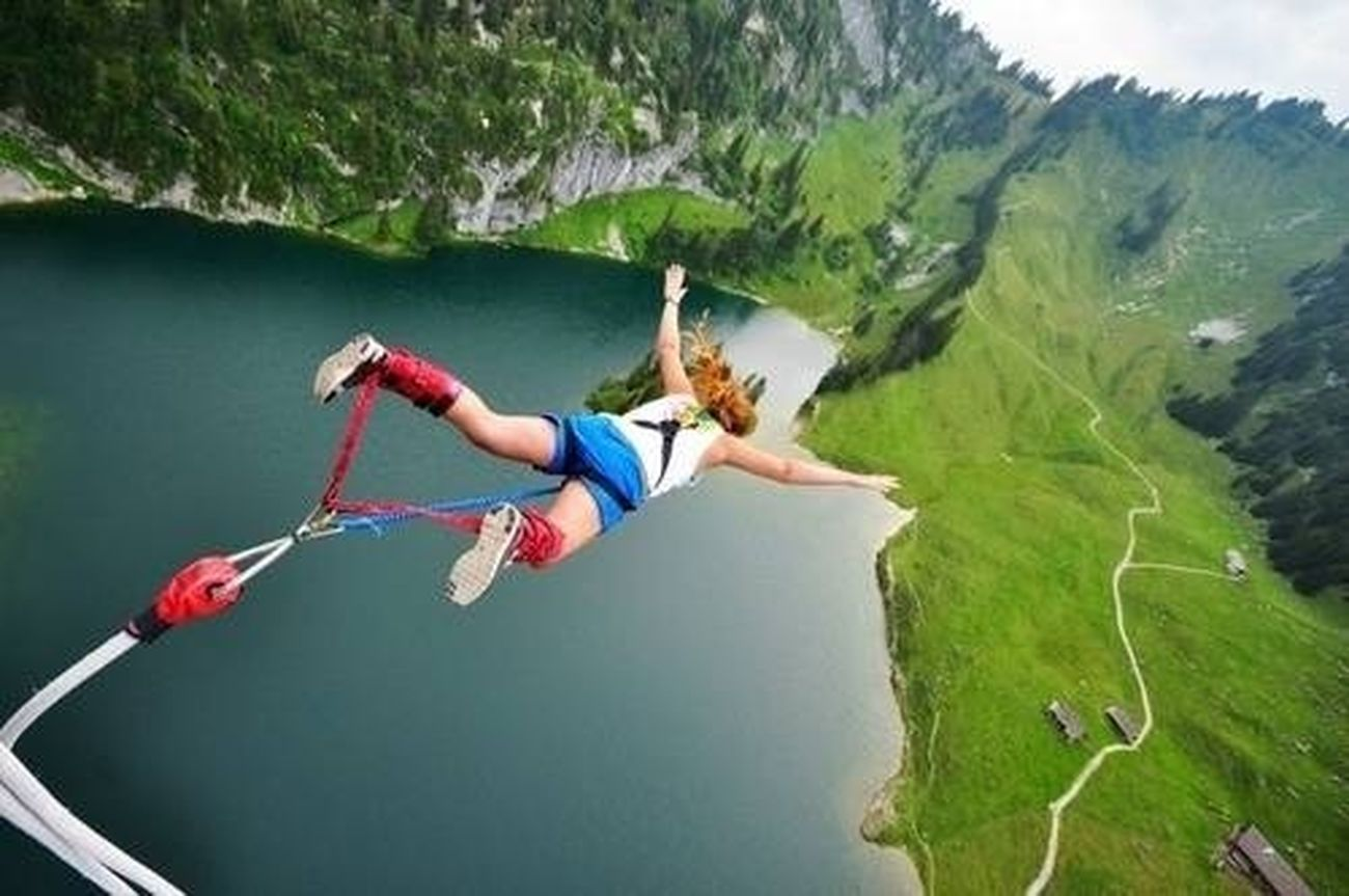 Travelling Bungee jumping