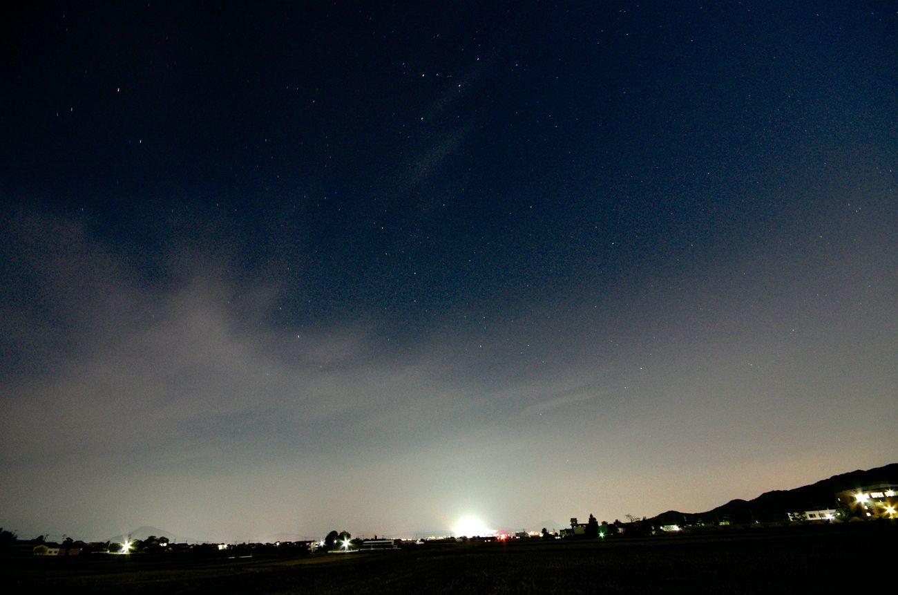 星空 相当田舎に行かないと長時間露光は厳しい。。。
