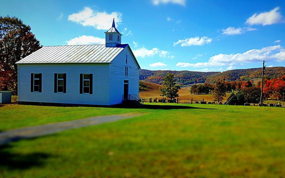 Highland County Virginia Fall Beauty Fall Hightown Methodist Church