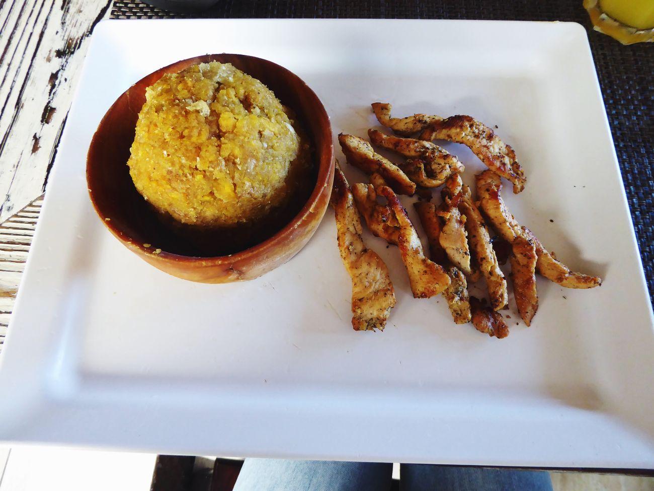Mofongo Food Foodporn Caribbean Life Chickens Yummy