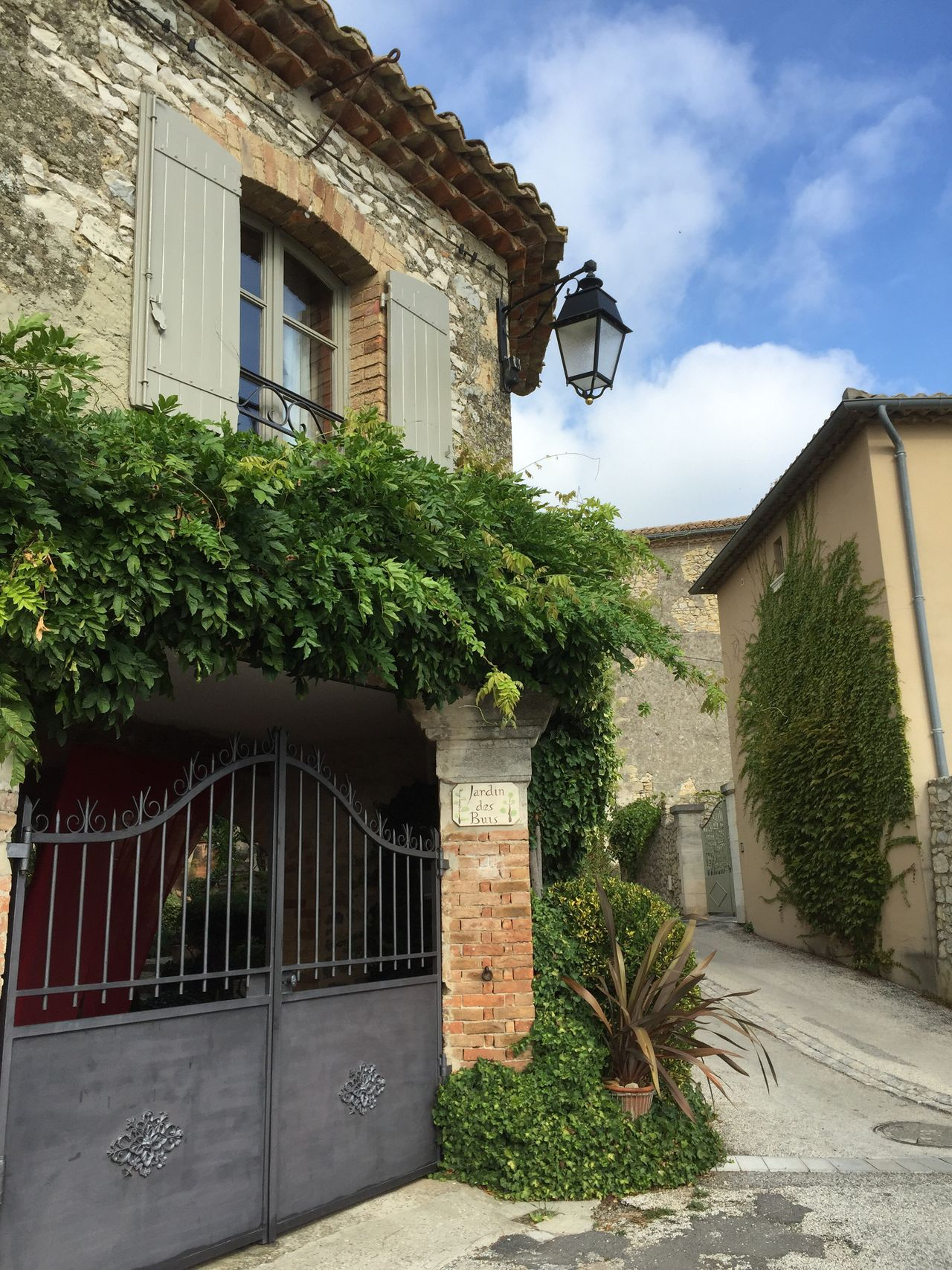 France Occitanie Gard Lussan Village Village Life Enjoying Life Building Exterior Tree Architecture Built Structure Plant Growth House Sky No People Balcony Residential Building Outdoors Day Nature