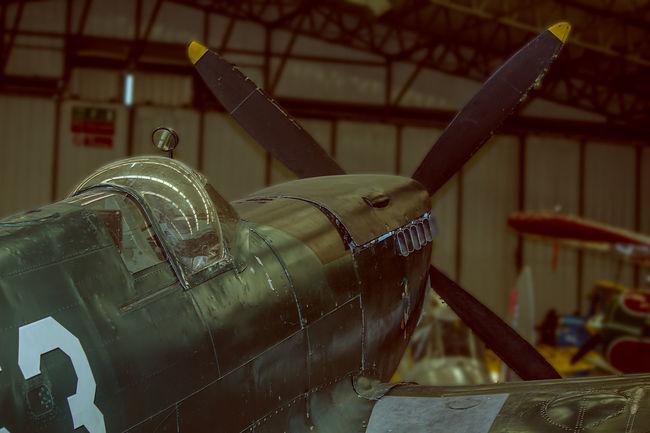 Dutch Spitfire ( post-war) Canon 650D Canon Eos 650D Canonphotography Dutch Airforce Duxford Green Propeller PROPELLERplane Spitfire Supermarine Spitfire