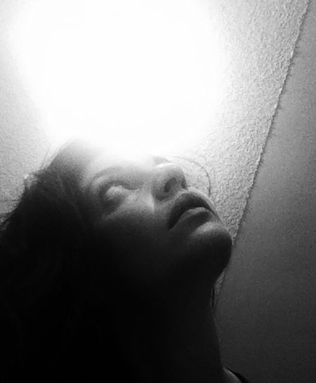 Looking Up That's Me! Selfie ✌ Self Portrait Experiments Self Portrait Black And White Playing With Light Creative Shots Hi! Taking Photos