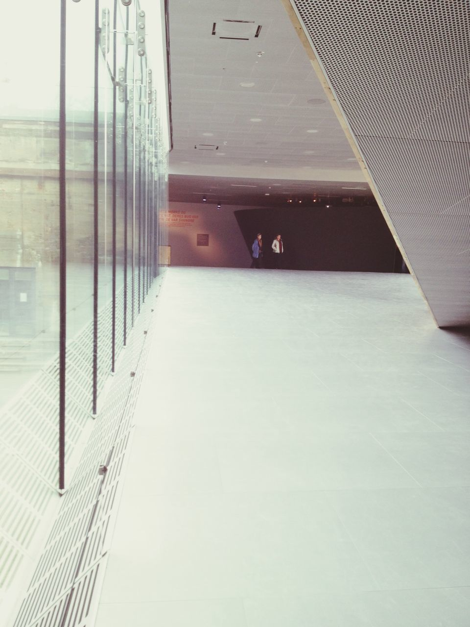 Lobby With Glass Wall