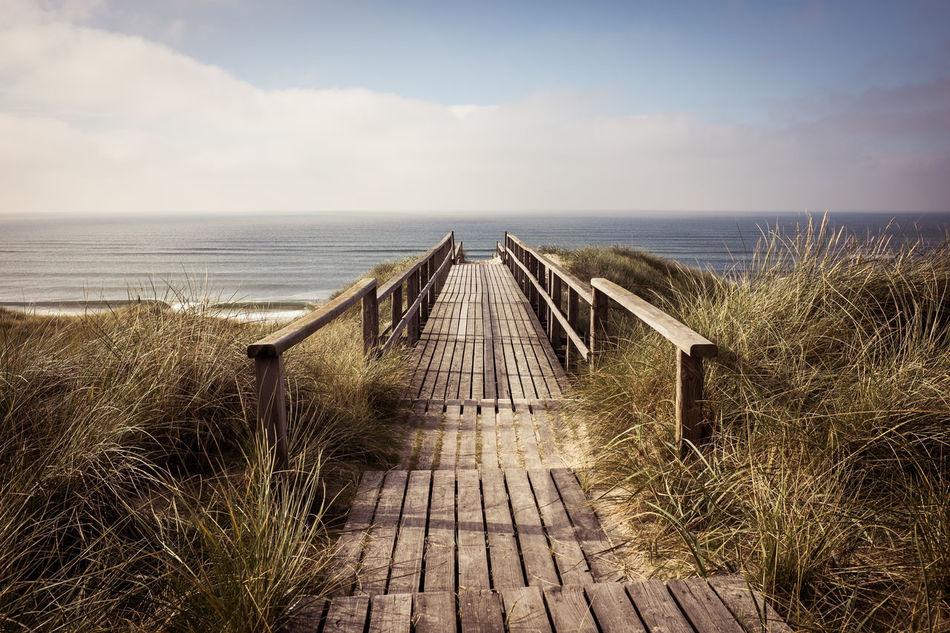 Beautiful stock photos of vacation, Beach, Beauty In Nature, Boardwalk, Cloud - Sky