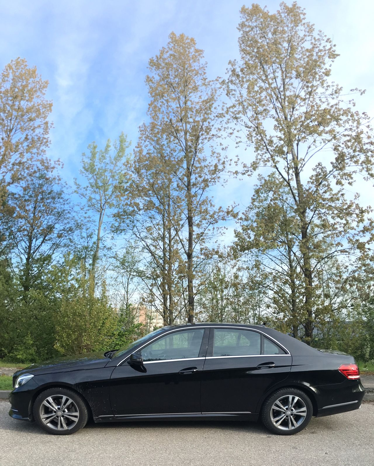 …arrived in Germersheim w/ this E250! [Yet, another Onlogist transfer]